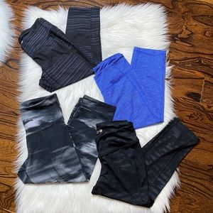 Old Navy Active Fitted capris (4 pairs)